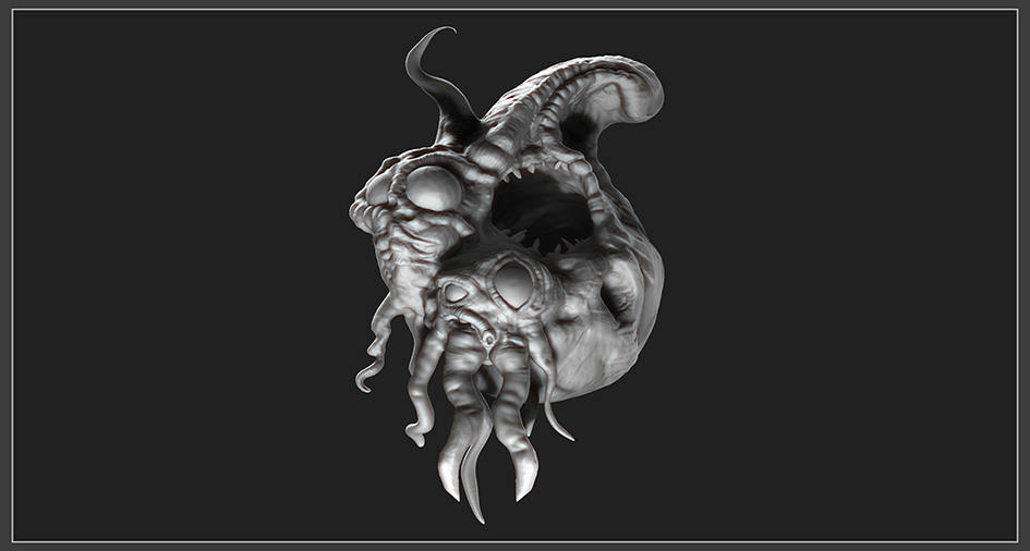 Blind Squirrel Sculpt Off